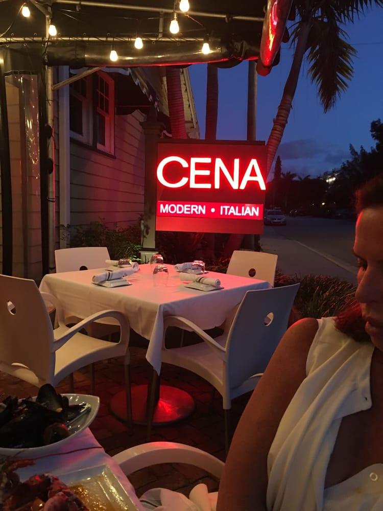 Cena Modern Italian Restaurant Delray Beach Fl