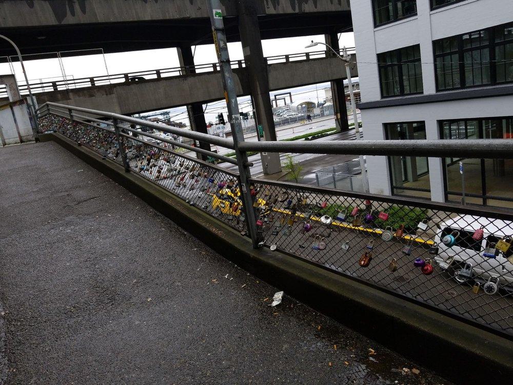 Marion Street Love Lock Bridge: 63-75 Marion St, Seattle, WA