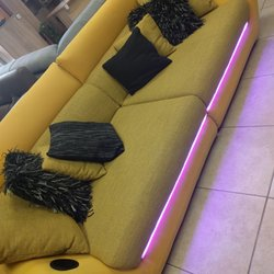 Photo Of Black Red White Furniture   Madison, WI, United States. Light Up