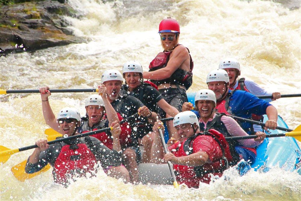 Wildman Adventure Resort - Menominee River Outpost: N22200 Bomber Rd, Niagara, WI