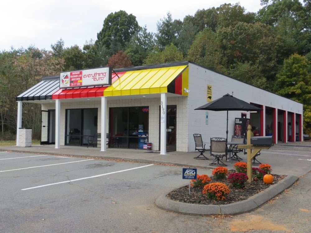 Everything euro auto repair 3190 peters creek pkwy for Affordable motors winston salem nc reviews