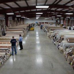 Photo Of Osborn S Georgia Carpet Terre Haute In United States Warehouse