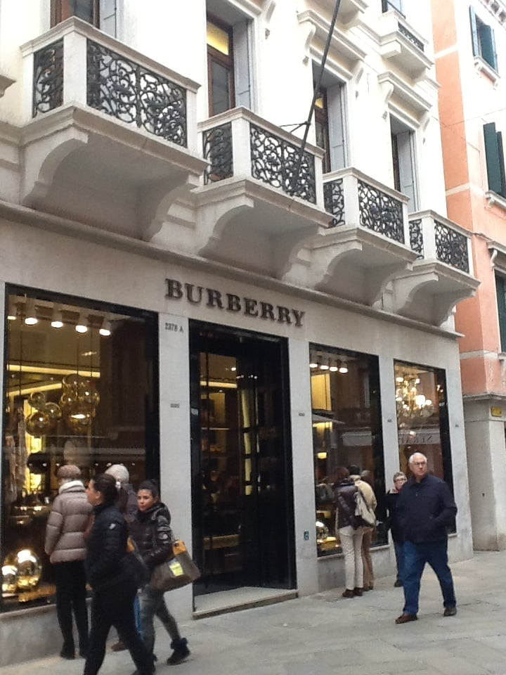 Burberry Italy Retail Limited