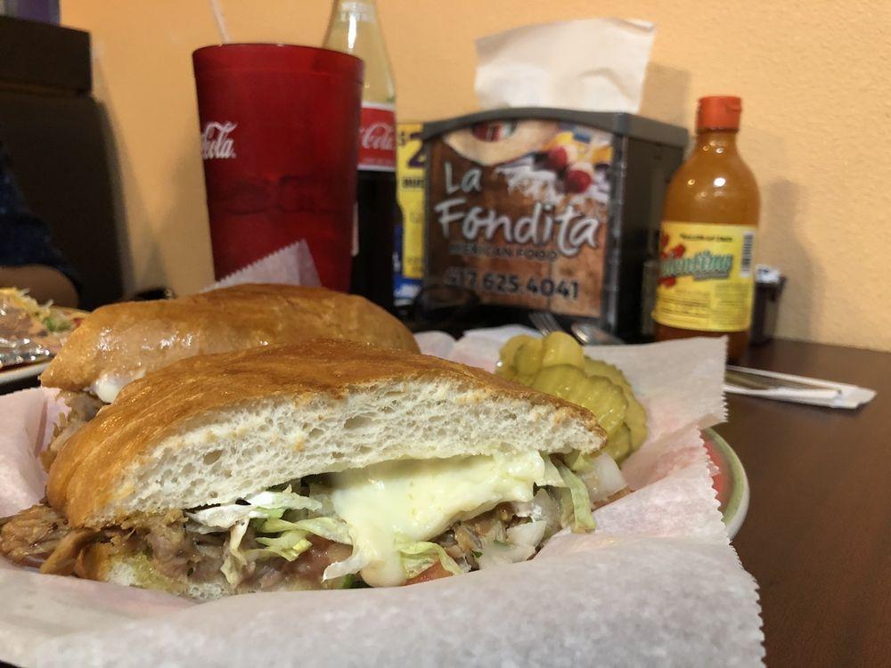 Food from La Fondita