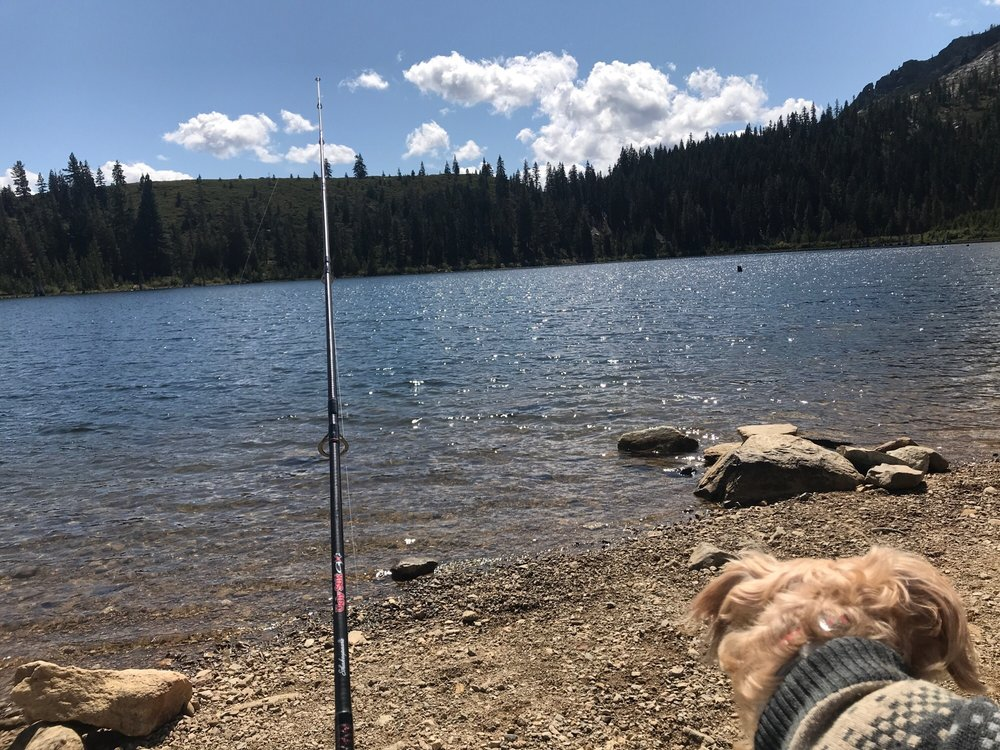 Eureka Lake: Plumas-Eureka State Park, Blairsden, CA