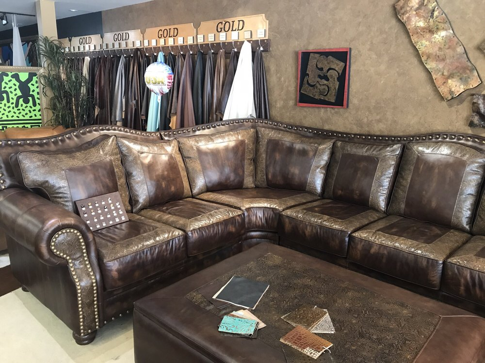 the leather sofa 19 photos leather goods 8008 st hwy 121 frisco tx phone number yelp - Aus Weier Couch Und Sofa