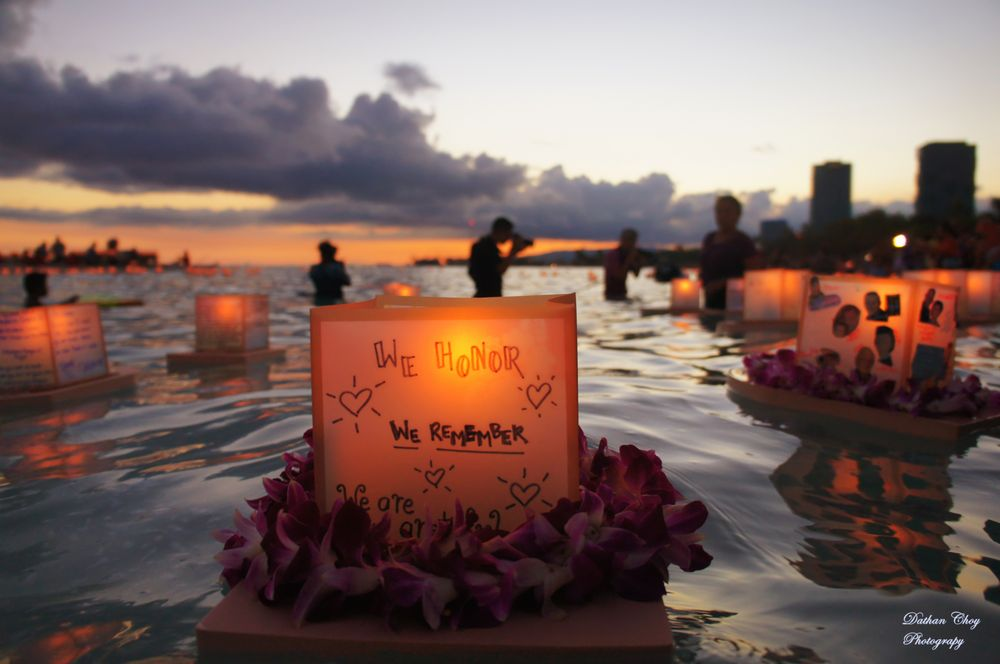 Lantern Floating Hawaii - Memorial Day