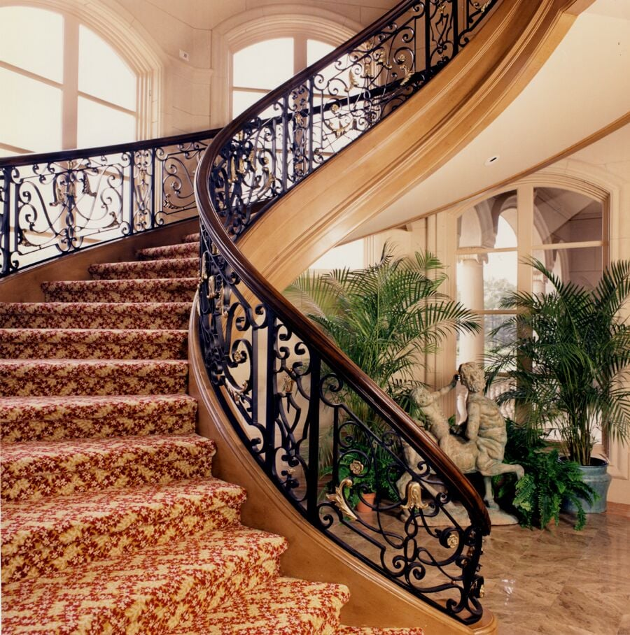 Staircases: Grand Staircases,curved Staircases,spiral Staircases