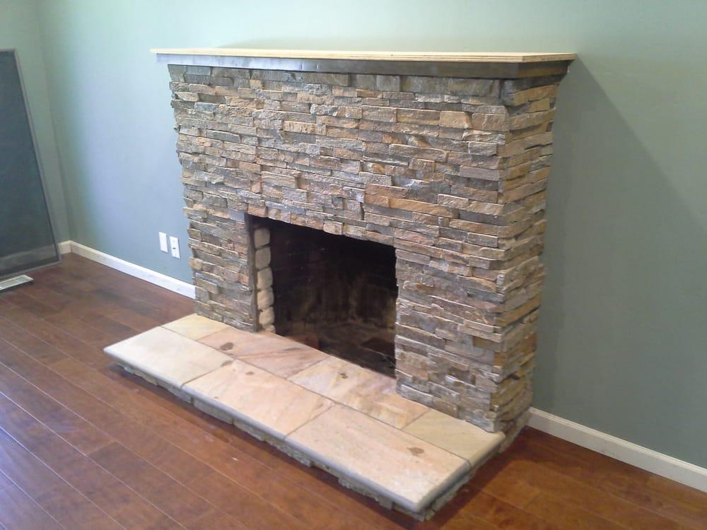 Ledgestone Fireplace Yelp