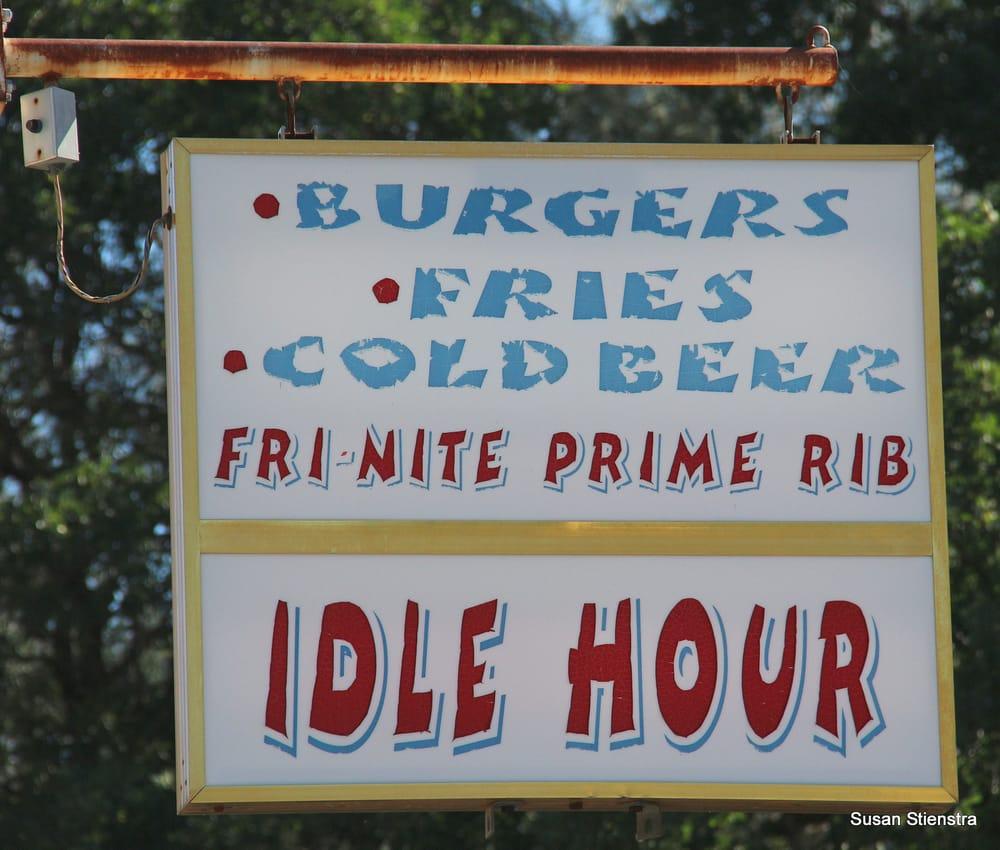 Idle Hour Bar & Grill: 14961 Bear Mountain Rd, Redding, CA