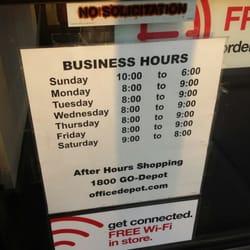 Firestone Hours Sunday >> Office Depot 56 Reviews Office Equipment 10710 Firestone Blvd