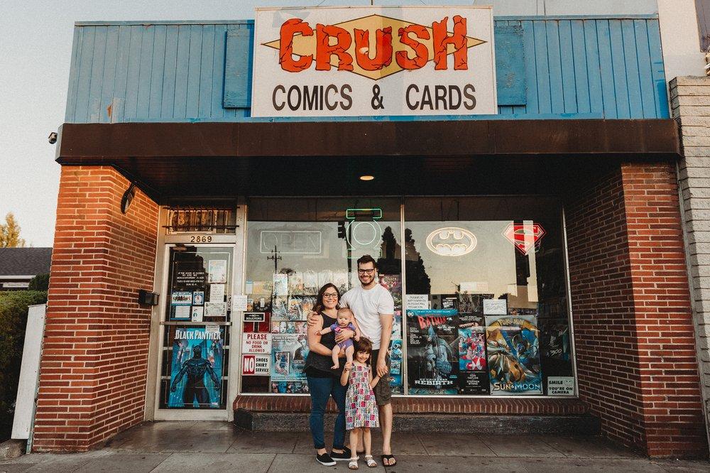 Crush Comics: 2869 Castro Valley Blvd, Castro Valley, CA