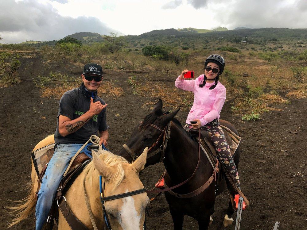 Triple L Ranch Maui - Private Custom Horseback Riding: 15900 Piilani Hwy, Kula, HI