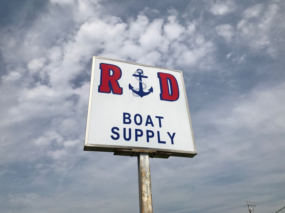 R & D Boat Supply: 22 Washington St, Cambridge, MD