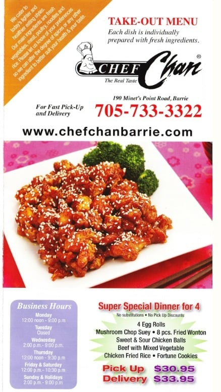 Chef Chan