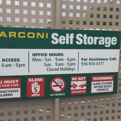 Photo of Marconi Self Storage - Sacramento, CA, United States. In the ...