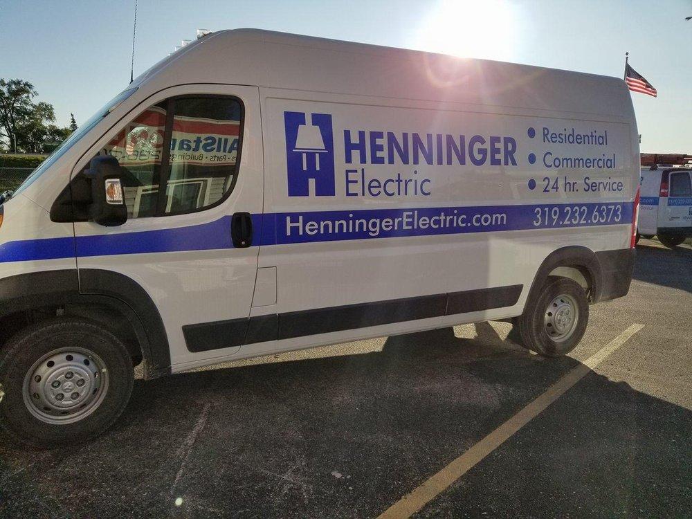Henninger Electric: 3008 S Hudson Rd, Cedar Falls, IA