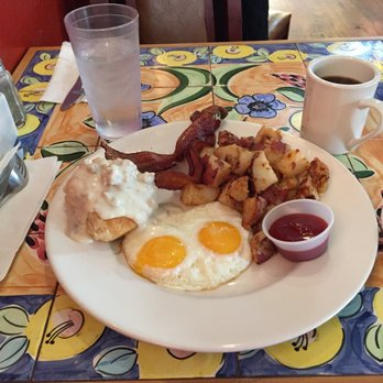 Photo of The Yellow Church Cafe - Ellensburg, WA, United States. My  breakfast
