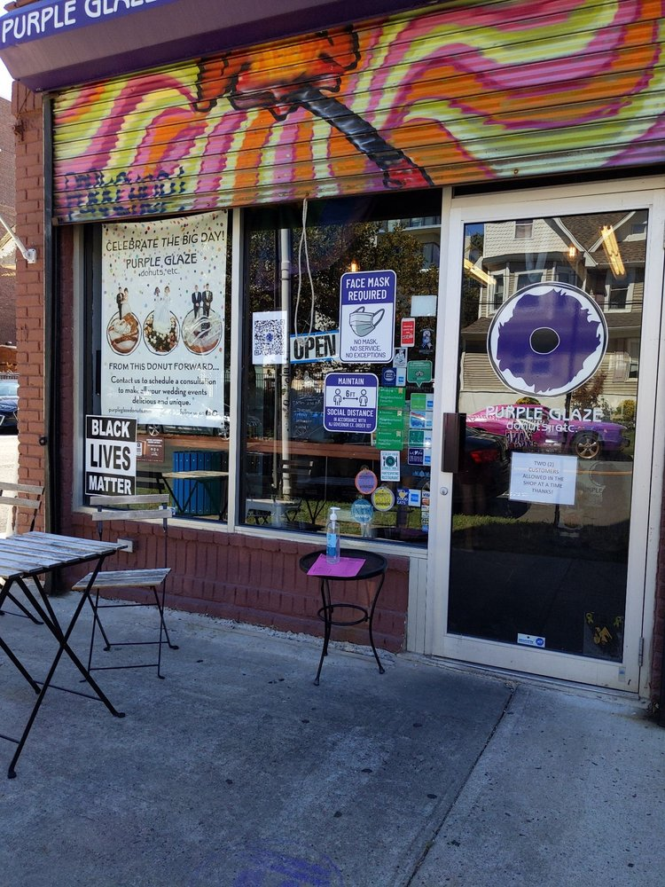 Purple Glaze Donuts: 516 Summerfield Ave, Asbury Park, NJ