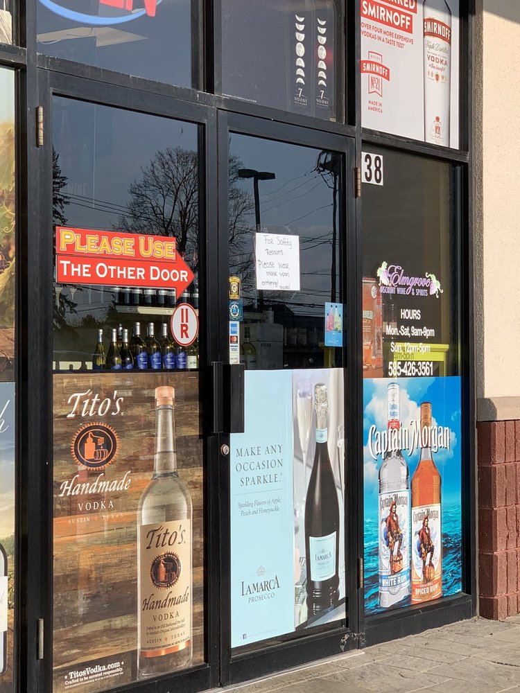 Elmgrove Discount Wine and Spirits: 738 Elmgrove Rd, Rochester, NY