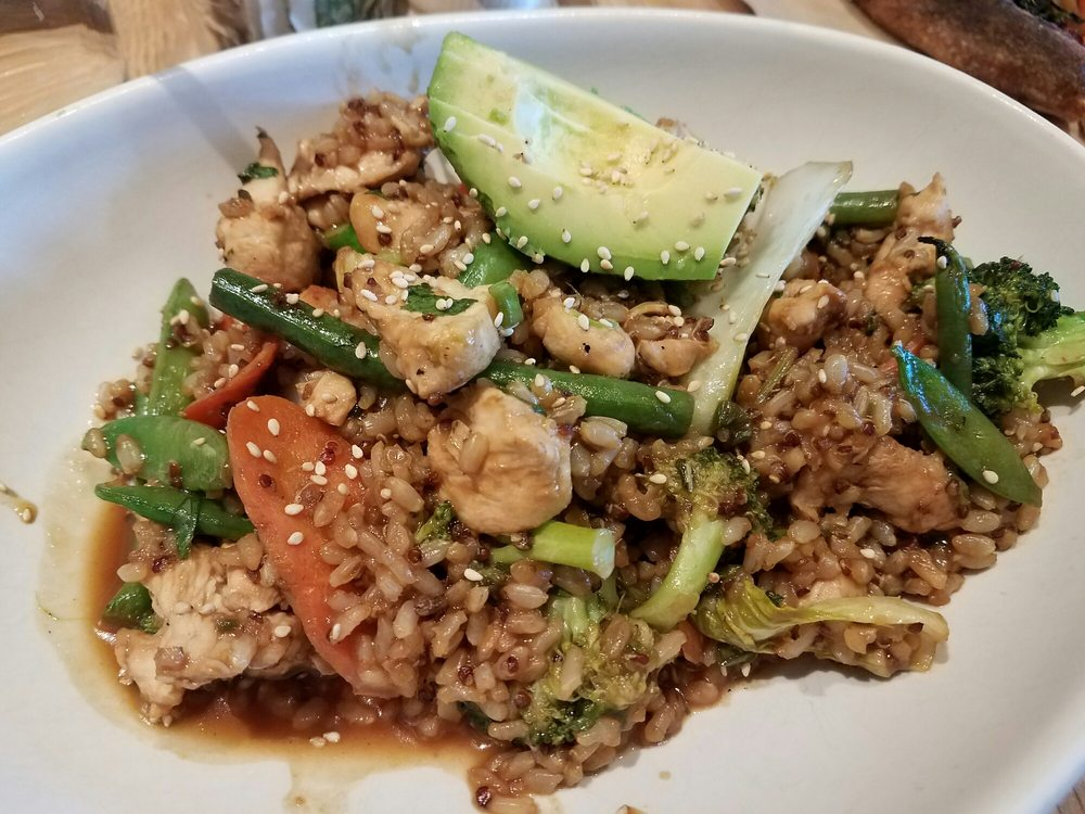 True Food Kitchen Bowls teriyaki quinoa bowl w/chicken - yelp