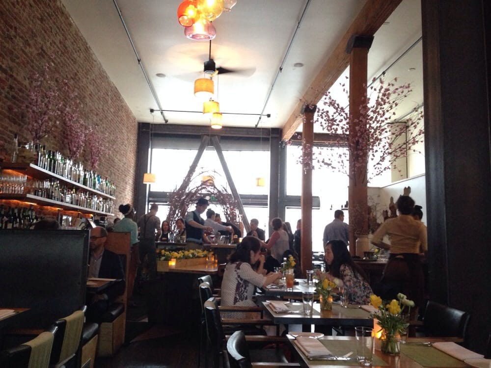 "Photo of AQ Restaurant & Bar - San Francisco, CA, United States. The beautiful ""Spring"" decor."