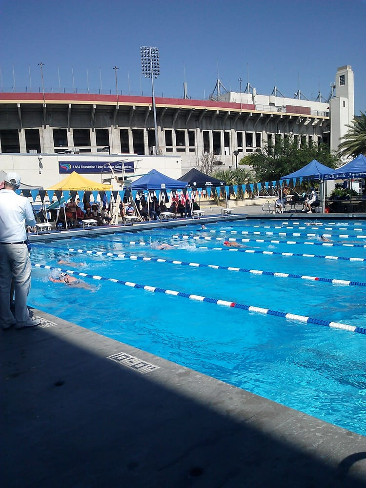 John C Argue Swim Stadium 25 Photos 16 Reviews Swimming Pools Exposition Park Los