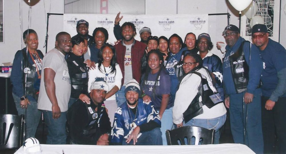 Meet greet with 35 kavion frazier yelp photo of north star dallas cowboys fan club newark nj united states m4hsunfo