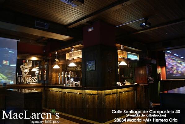 Maclaren s pub irland s calle santiago de compostela 40 fuencarral madrid espa a - Calle santiago madrid ...