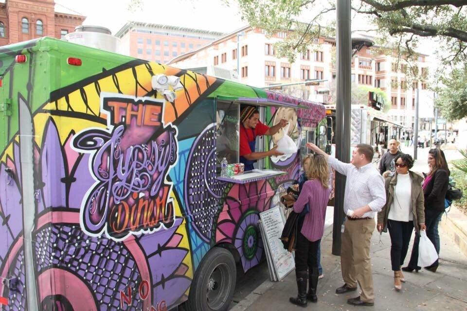 Gypsy Diner San Antonio Food Truck