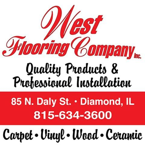West Flooring Company: 85 N Daley St, Diamond, IL