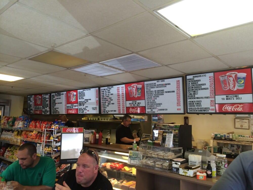 Mike's Deli: State Hwy 34 & Paynters S, Belmar, NJ