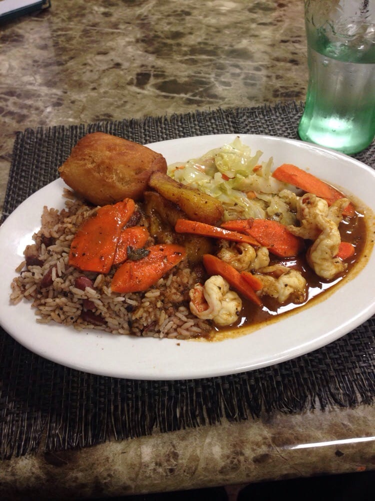 Curry shrimp must try yelp for Ackee bamboo jamaican cuisine