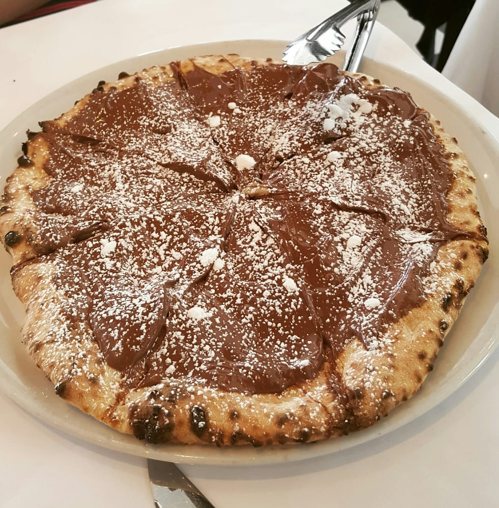 Nutella pizza - Yelp
