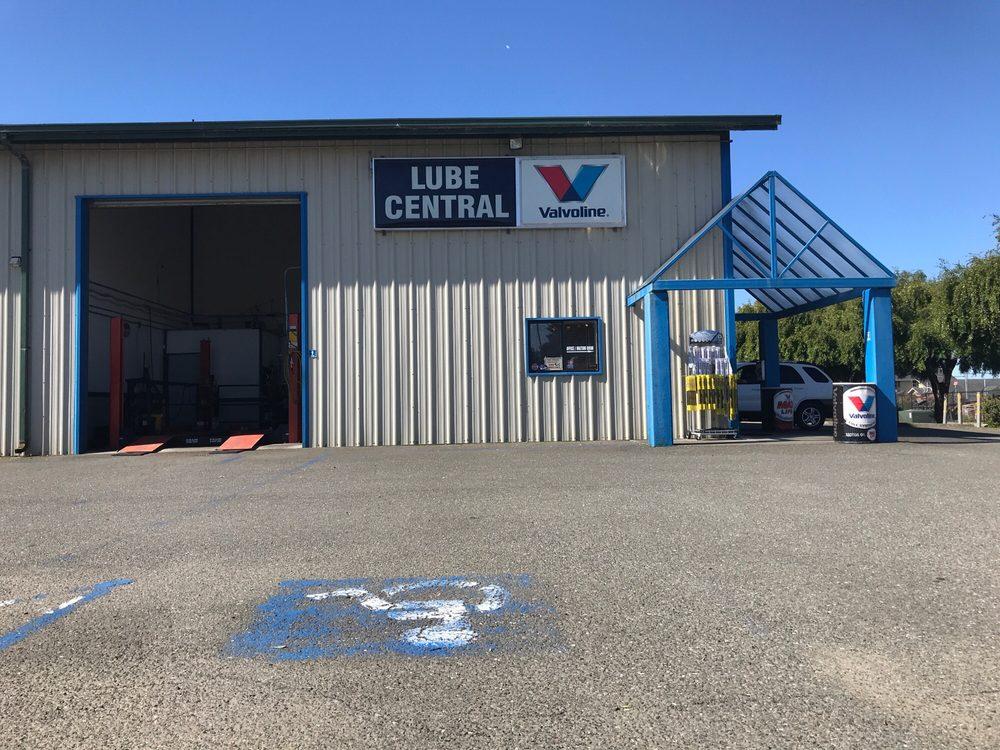 Lube Central: 1590 Nursery Rd, McKinleyville, CA