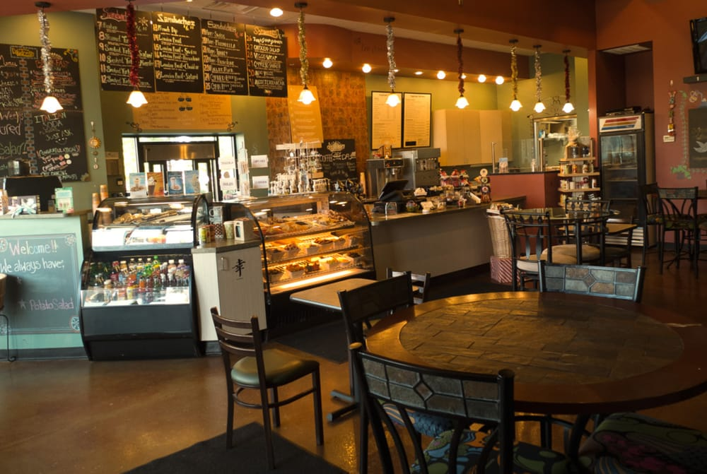 Daydream cafe interior from cozy front corner free wifi