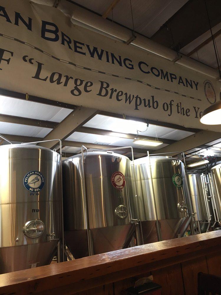 Pelican Brewing -Tillamook: 1708 1st St, Tillamook, OR