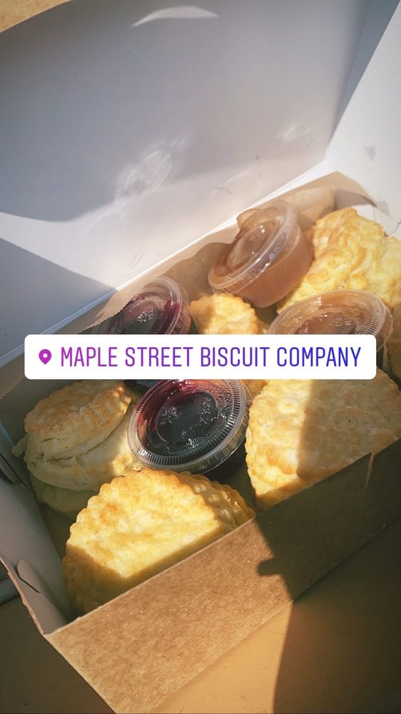 Food from Maple Street Biscuit Company