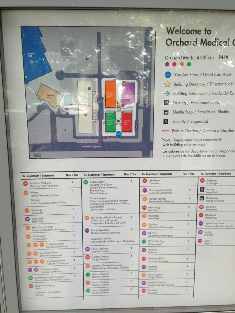Map of medical offices Yelp