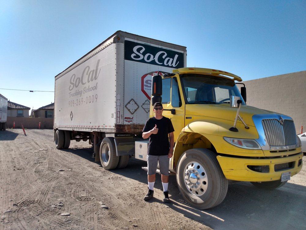 SoCal Trucking School: 18340 Valley Blvd, Bloomington, CA