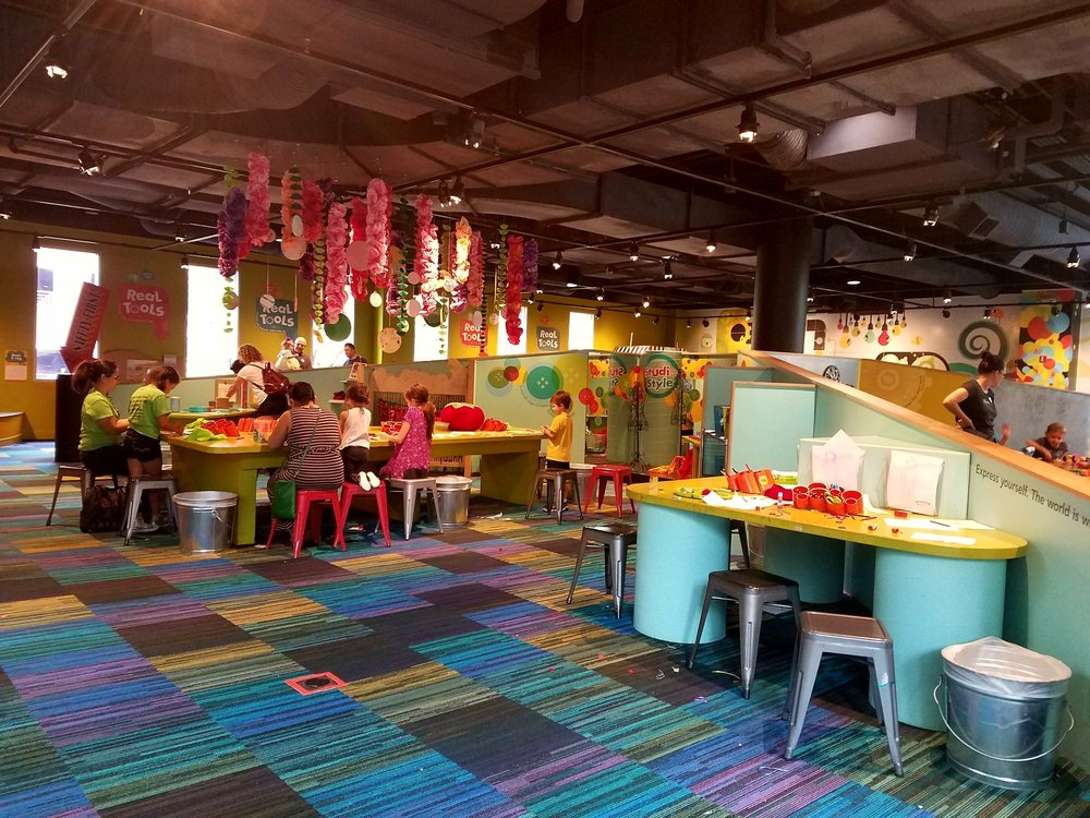 Social Spots from Marbles Kids Museum