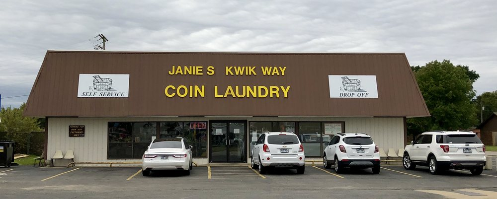 Janie's Kwik-Way Coin Laundry: 2704 E 16th St, Russellville, AR