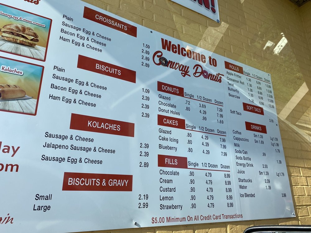Social Spots from Conway Donuts