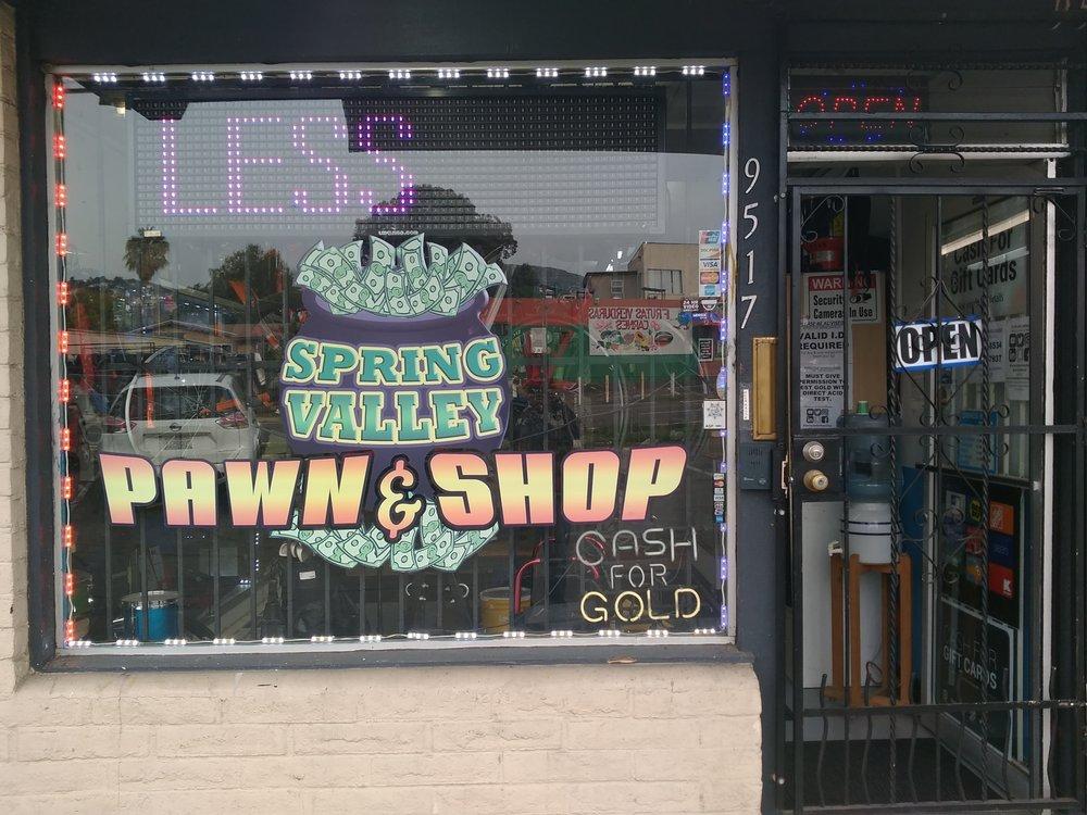 Spring Valley Pawn Shop: 9517 Jamacha Blvd, Spring Valley, CA