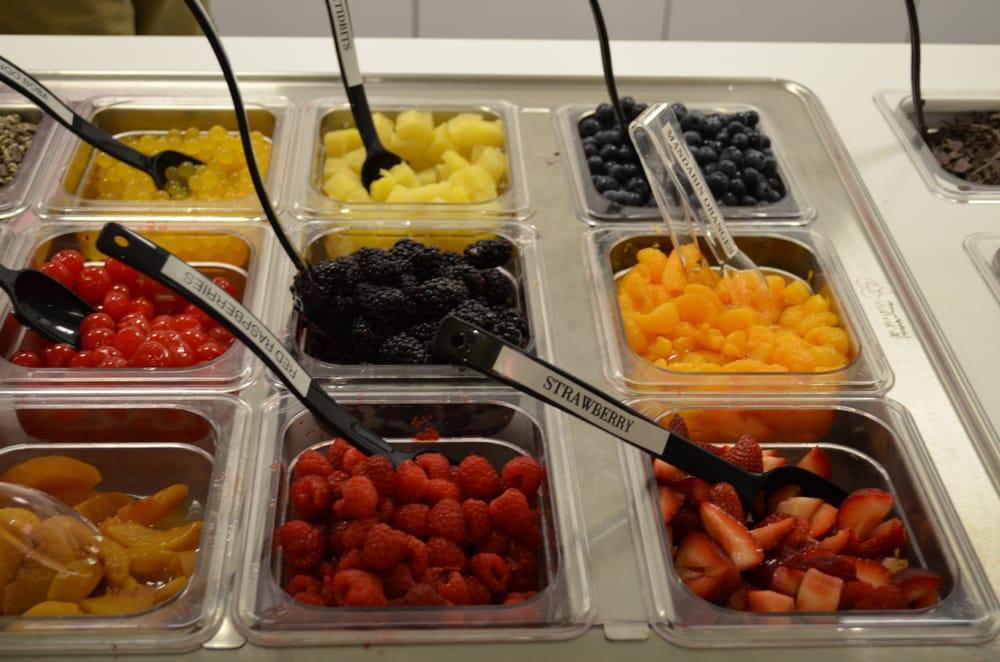 Fresh Fruit in Berry Yo topping bar! YUMMY!!! - Yelp