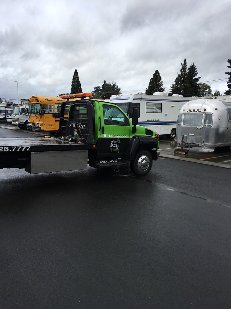 The Last Resort Towing: Albany, OR