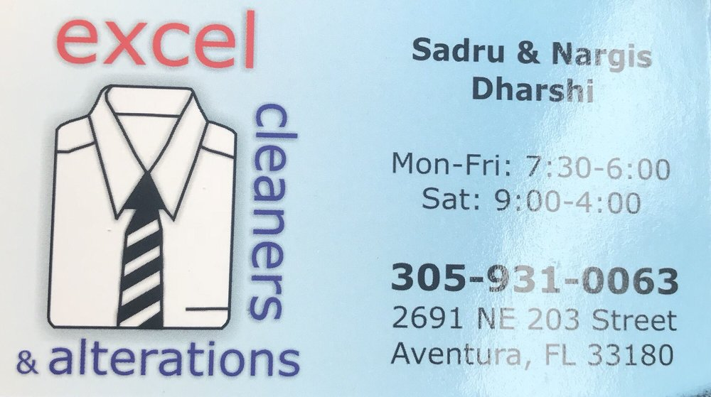 Excel Dry Cleaners & Alterations