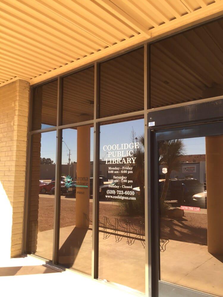 Coolidge Public Library: 160 W Central Ave, Coolidge, AZ
