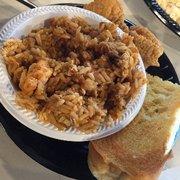 Jambalaya menu bourbon street fish inglewood for Bourbon street fish