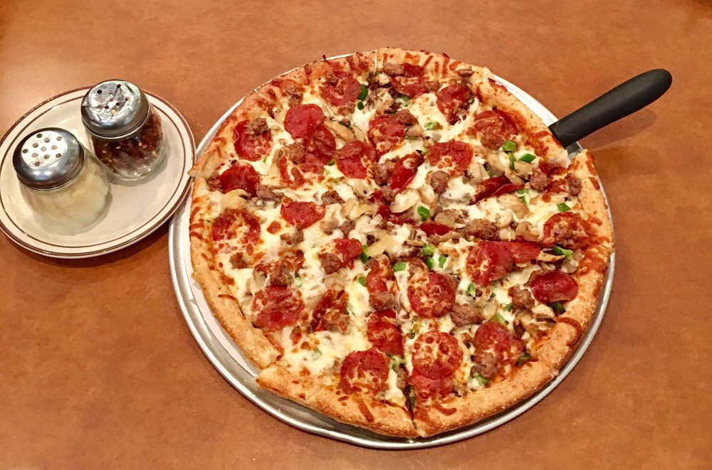 Olympic Steak and Pizza: 6250 Hwy 64, Oakland, TN